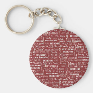 The Best Things About Christmas Last All Year Long Basic Round Button Keychain