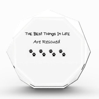 The Best Things In Life Are Rescued Award
