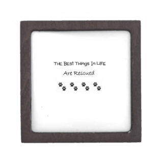 The Best Things In Life Are Rescued Gift Box