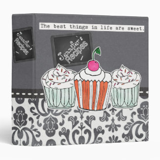 The Best Things In Life Are Sweet Recipe Binder