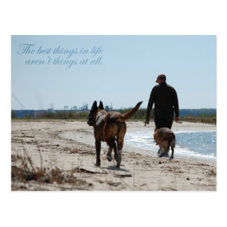 The Best Things In Life Postcard