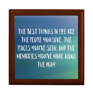 The Best Things Memory Box
