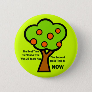 THE BEST TIME TO PLANT TREES BUTTON