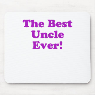 The Best Uncle Ever Mouse Pad
