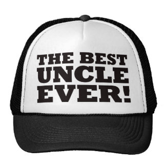 The Best Uncle Ever Trucker Hat