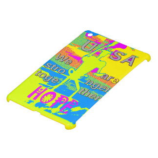 The Best USA Hope  Hillary Stronger Together Cover For The iPad Mini