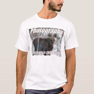 The best way to shoot wildlife T-Shirt