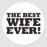 The Best Wife Ever Stickers