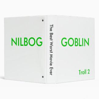 The Best Worst Movie Ever, GOBLIN, NILBOG Binder