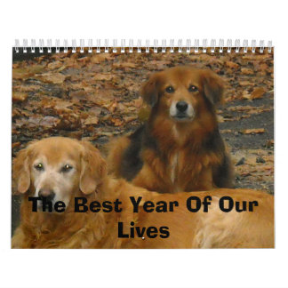 The Best Year Of Our Lives Calendar