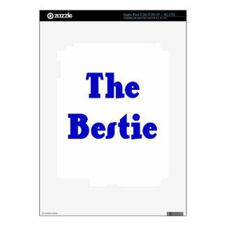 The Bestie iPad 3 Decals