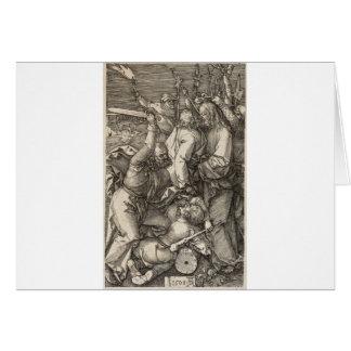 The Betrayal of Christ circa 1508 Card