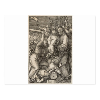 The Betrayal of Christ circa 1508 Postcard