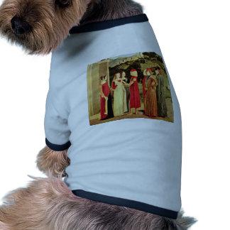The Betrothal By Italienischer Meister Des 15. Jah Doggie Tshirt