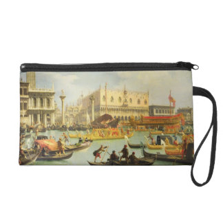 The Betrothal of the Venetian Doge Wristlet Clutch