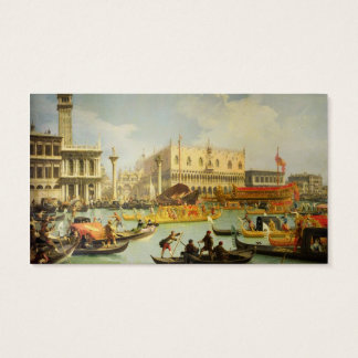 The Betrothal of the Venetian Doge Business Card