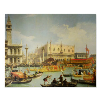 The Betrothal of the Venetian Doge Poster