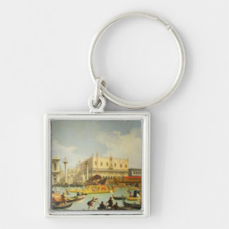 The Betrothal of the Venetian Doge to Adriatic Keychain