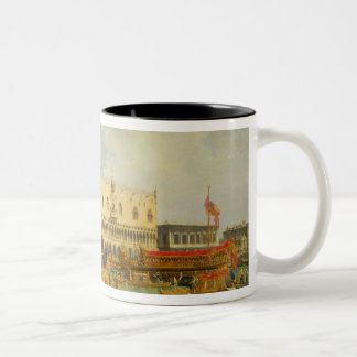 The Betrothal of the Venetian Doge to Adriatic Two-Tone Coffee Mug