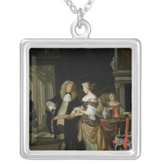 The Betrothal Silver Plated Necklace