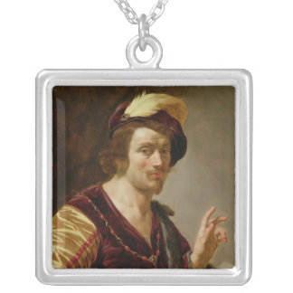The Betrothal: The Groom, c.1630 Silver Plated Necklace