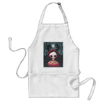 red, ridding, hood, cherry, pie, sweet, sugar, fueled, michael, banks, coallus, wolf, Apron with custom graphic design