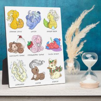 The Beverage Bunnies Display Plaques