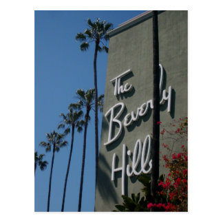 The Beverly Hills Hotel Postcard