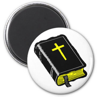 The Bible 2 Inch Round Magnet