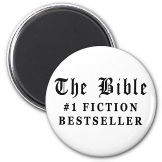 The Bible Fiction Bestseller Magnet