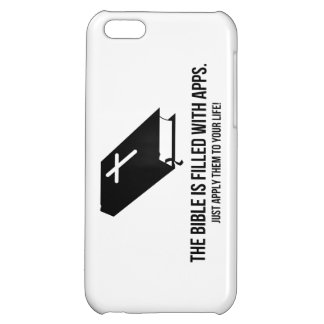 The Bible is Filled with Apps iPhone 5C Covers