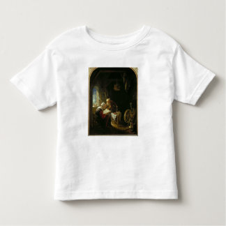 The Bible Lesson, or Anne and Tobias (oil on panel Toddler T-shirt