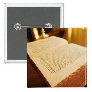 The Bible Pinback Button