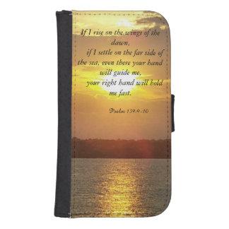 The Bible Psalm 139:9-10 wallet case Galaxy S4 Wallet Case