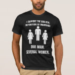 The Biblical definition of marriage T-Shirt