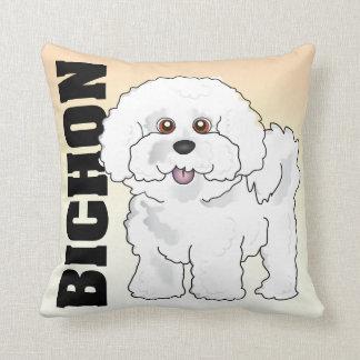 The Bichon Frise Pillow