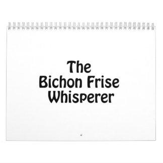 the bichon frise whisperer.ai calendar