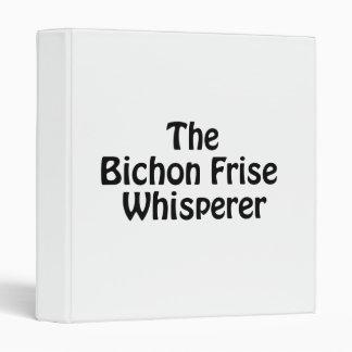the bichon frise whisperer binder