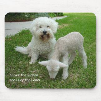 The Bichon Lamb-Minder Gift Range Mouse Pad