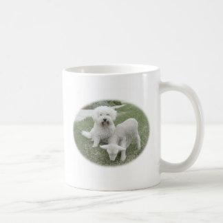 The Bichon Lamb-Minder Gift Range Basic White Mug