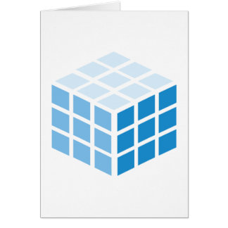 The Bick cube Card