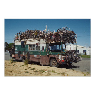 The Bicycle Bus Poster