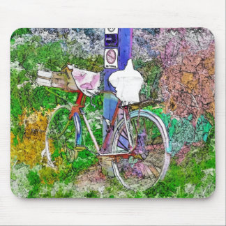 THE BICYCLE MOUSE PAD