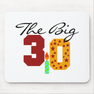 The Big 3-0 Mouse Pad