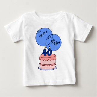 The Big 4 0 - 40th Birthday Gifts Baby T-Shirt