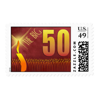 The Big 50 Birthday Stamps