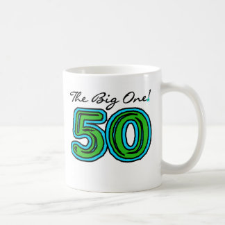 The Big 5-0 Coffee Mug