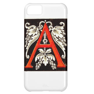 "The Big ""A"" - Floral Illumination iPhone 5C Case"