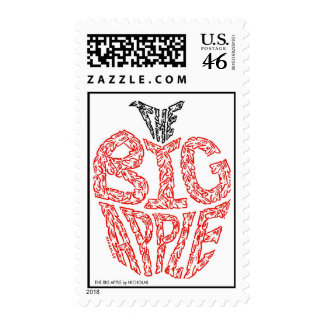 THE BIG APPLE by NICHOLAS Postage Stamps