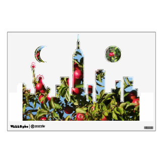 The Big Apple-New York City Wall Decal